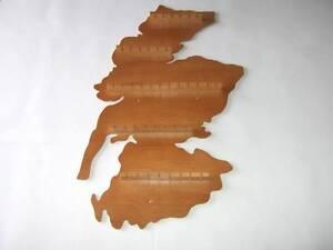 40pc Scotland Wooden Spoon Display Rack ( Pine )( huge range - see list )