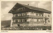 Landhaus Reiter bei Sachsenkam, Schaftlach, Holzkirchen, Ansichtskarte von 1937