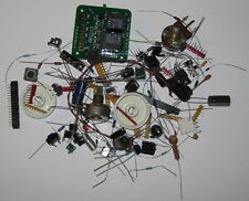Electronic Part Assortment – Transistors, LEDs, Diodes, Resistors, Capacitors ..