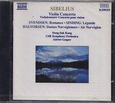 SIBELIUS - Violin concerto Svendsen Sinding Halvorsen - CD 1990 SIGILLATO SEALED