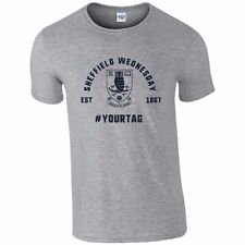 Sheffield Wednesday F.C - Personalised Mens T-Shirt (VINTAGE #)