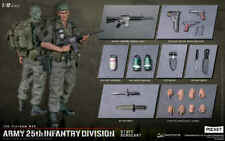 PES006: DAMTOYS 1/12 Vietnam War ARMY 25th Infantry Division Staff Sergeant Fig