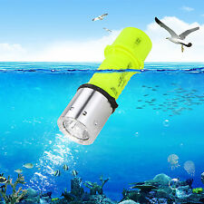 2000LM CREE XM-L T6 LED Warm Light Diving Rechargeable Flashlight Torch AAA