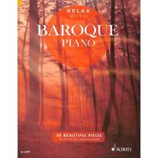 Relax with Baroque Piano - Noten für Klavier 13849 - 9781847613974