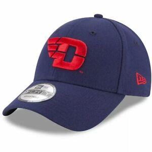 Mens New Era Navy Dayton Flyers The League 9FORTY Adjustable Hat