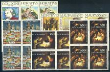 San Marino 1993 Sass. 1394-1400 MNH 100% Block of four Copyright celebrations,