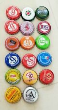 17 Mixed Different Beer Soda pop crown bottle caps Coke Fanta Leo Thailand