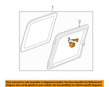 GM OEM REAR DOOR-Latch Assembly 12474945