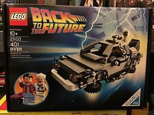 Retired Lego CUUSOO Set 21103 Back To The Future Delorean New Sealed