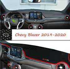 red Inner Dash Mat DashMat Sun Cover Pad Fit For Chevrolet Blazer 2019 2020 21