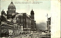 City Hall San Francisco after fire 1906~ Budweiser~ Goodrich Tires ~ Whiskey~UDB