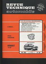 (30A) REVUE TECHNIQUE AUTOMOBILE RENAULT 5LS / MERCEDES 200D 220D 240D/SIMCA1100