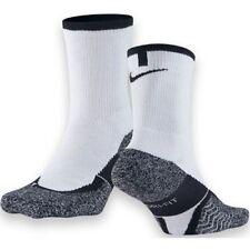 Nike Dri-Fit Elite Crew Tennis Socks Style SX4935-110 Size M (6-8)