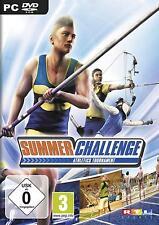 Summer Challenge rtl   PC   DVD   incl. key   nuevo & OVP   alemán   usk0