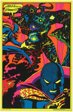 1970s Dr. Strange Meets Eternity blacklight poster replica magnet - new!