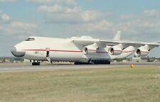 x8  ANTONOV An-225 MRIYA,  CCCP 82060.,   F'boro,  ORIGINAL 35mm NEGATIVES