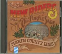 New Riders Of The Purple Sage - Marin County Line - One Way Rec. MCAD 22107 Mint