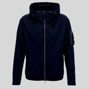 """BN Hugo Boss Olvaro-D Dark Navy Blue Hooded Jacket UK L 40"""" Chest £299.00"""