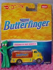 2016 Hot Wheels Nestle Butterfinger '51 GMC Coe Giallo Pop Culture Real Rider