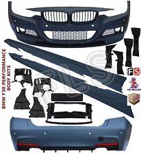 BMW F30 FULL BODY KIT SPORT BUMPER + SIDE SKIRTS + FOR M-PERFORMANCE SPLITTER
