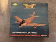 Corgi Aviation Archive Canadair CL-13a / F86 Sabre Mk5 RCAF Golden Hawks AA35806
