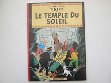 TINTIN LE TEMPLE DU SOLEIL BROCHE 1999 TOTAL 6 PAGES SUPPLEMENTAIRES TBE