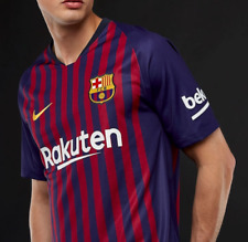 New Nike Authentic FC Barcelona Home Jersey Soccer Football Size Small 2018/2019