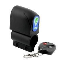 Alarmanlage Vibration Alarm Sirene Fernbedienung Fahrrad Bike Roller schwarz