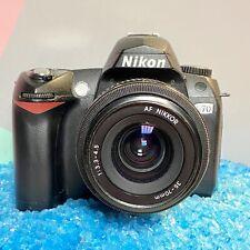 Nikon D70 DSLR Camera 6.1MP 35-70mm AF Nikkor Lens Working Order!