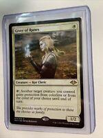 MTG Magic the Gathering Giver of Runes Modern Horizons x1