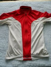 Specialized Women's Medium Cycling  Red & White Shirt Jersey