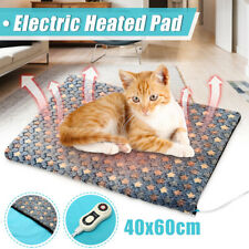 Electric Waterproof Heated Heating Cat Pet Dog Bed Sofa Pad Mat Cover 40x60cm