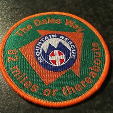 Dales Way badge / patch - sold in aid of Mountain Rescue - Dalesway