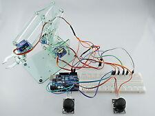 [Sintron] Mini Industrial Robotic Arm Kit + Servos Joysticks UNO R3 for Arduino