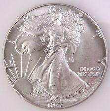 1987 Silver Eagle Fresh BU Roll of 20 Low Mintage