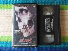 Evil Dead 2: Dead by Dawn (Vhs, 1998, Widescreen)