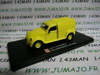 2CVAP60G voiture 1/43 ELIGOR Autoplus CITROËN 2CV n°14 camionnette TOP CHOP