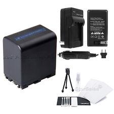 NP-QM91 Battery + Charger for Sony DCR-TRV950 TRV840 PDX10 SG1 HDV-A1U