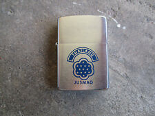 Vietnam era 1963 JUSMAG Thailand rare early date Zippo lighter