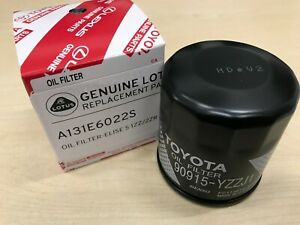 Genuine Lotus Elise / Exige Oil filter (Toyota 1ZZ / 2ZR) A131E6022S NEW