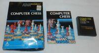 Computer Chess Atari 400/800/XL/XE Game Complete in Box CIB RARE