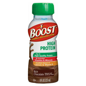 NESTLE 1 CA/24 EA 09403600 Boost High Protein Nutritional Energy Drink 8 CHOP