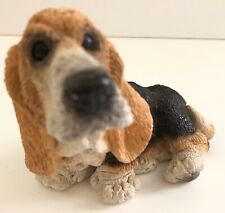 Basset Hound Stone Critters Dog Figurine Sc-082 Made in Usa