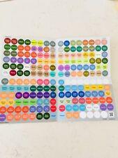 Essential Oils Bottle Cap Stickers For doTerra Oils 1 Sheet Latest Realise!