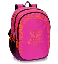 Bolsos de niño mochilas rosas de poliéster