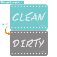 Creative Dishwasher Magnet Clean Dirty Sign Gift for Mother's Day Tool Home