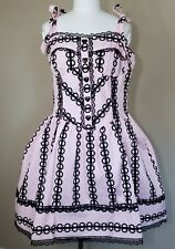 The White Peacock Pink Dress Angelic Sweet Gothic Lolita Steampunk Lace Women XL