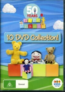 Play School: 50 Years - 10 DVD Collection - Region 4 - FAST POST