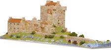 Aedes 1011. Maqueta Castillo Eilean Donan. Construccion de ladrillos