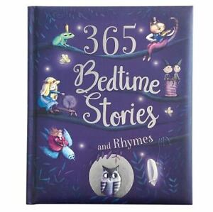 365 Bedtime Stories and Rhymes (2018, Hardcover)